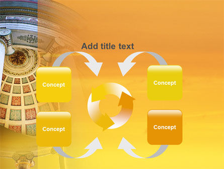 Rotunda PowerPoint Template Slide 6