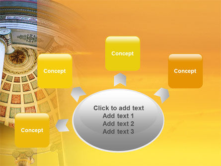 Rotunda PowerPoint Template Slide 7