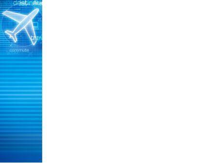 Airways PowerPoint Template, Slide 3, 02321, Cars and Transportation — PoweredTemplate.com