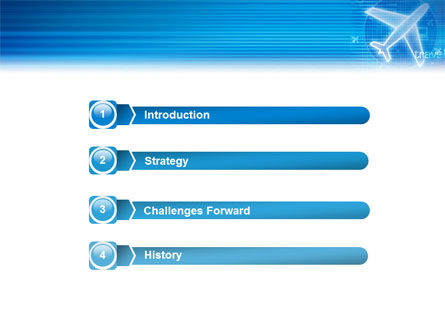 Airways PowerPoint Template Slide 3