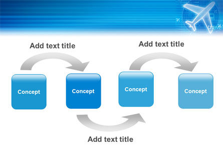 Airways PowerPoint Template Slide 4