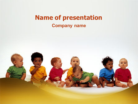 People: Cry-baby PowerPoint Template #02323