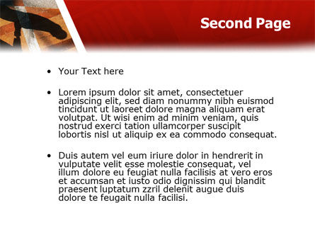 Handshake PowerPoint Template Slide 2