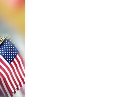 USA Flag PowerPoint Template, Slide 3, 02329, Flags/International — PoweredTemplate.com