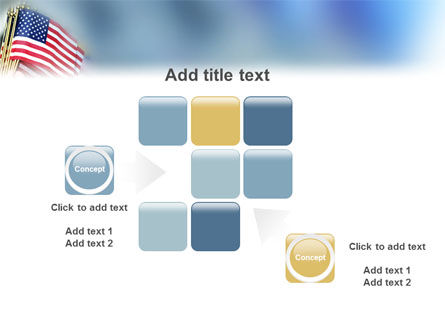 USA Flag PowerPoint Template Slide 16