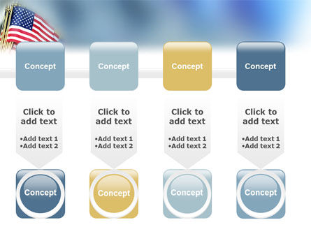 USA Flag PowerPoint Template Slide 18