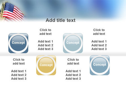 USA Flag PowerPoint Template Slide 19