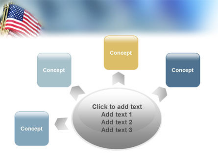 USA Flag PowerPoint Template Slide 7