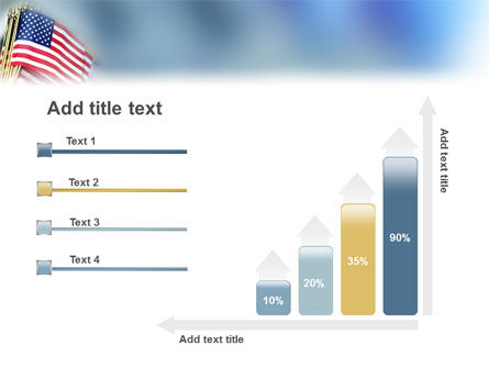 USA Flag PowerPoint Template Slide 8