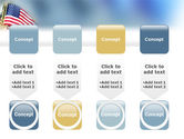 USA Flag PowerPoint Template#18