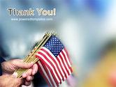 USA Flag PowerPoint Template#20
