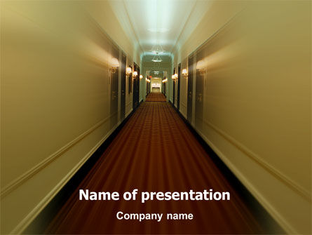 Careers/Industry: Hotel PowerPoint Template #02330