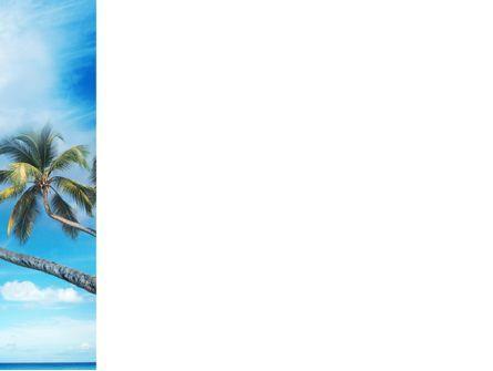 Palm Tree PowerPoint Template, Slide 3, 02331, Nature & Environment — PoweredTemplate.com