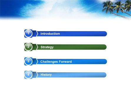 Palm Tree PowerPoint Template Slide 3