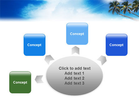 Palm Tree PowerPoint Template Slide 7