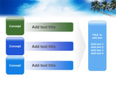Palm Tree PowerPoint Template#12