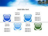 Palm Tree PowerPoint Template#19