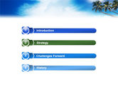 Palm Tree PowerPoint Template#3
