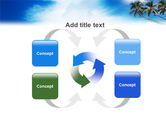 Palm Tree PowerPoint Template#6