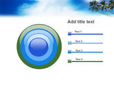 Palm Tree PowerPoint Template#9