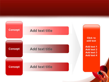 Key To Heart PowerPoint Template Slide 12