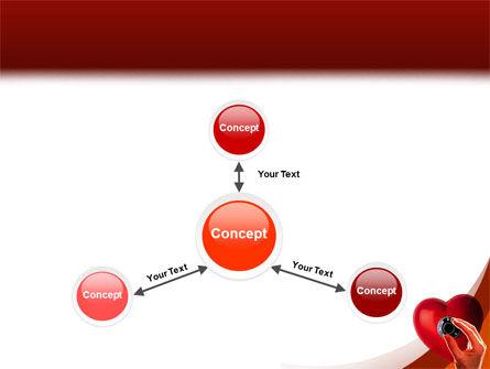 Key To Heart PowerPoint Template Slide 14