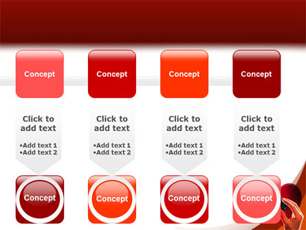 Key To Heart PowerPoint Template Slide 18