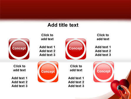 Key To Heart PowerPoint Template Slide 19