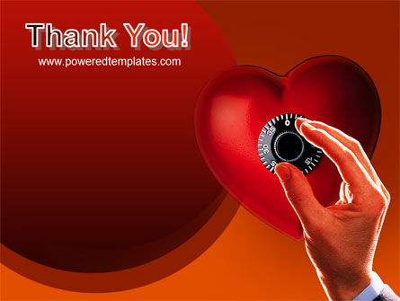 Key To Heart PowerPoint Template Slide 20