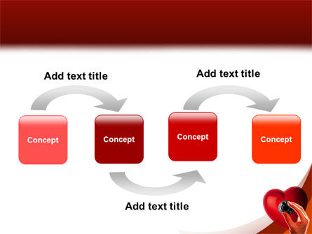 Key To Heart PowerPoint Template Slide 4