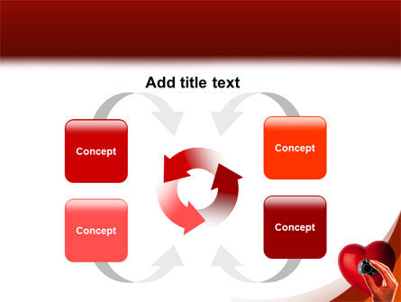Key To Heart PowerPoint Template Slide 6