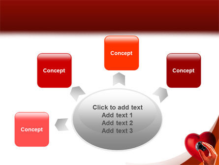 Key To Heart PowerPoint Template Slide 7
