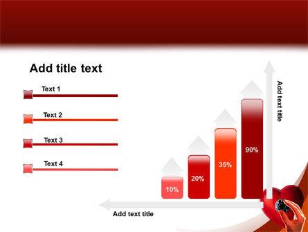Key To Heart PowerPoint Template Slide 8