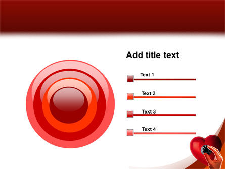 Key To Heart PowerPoint Template Slide 9