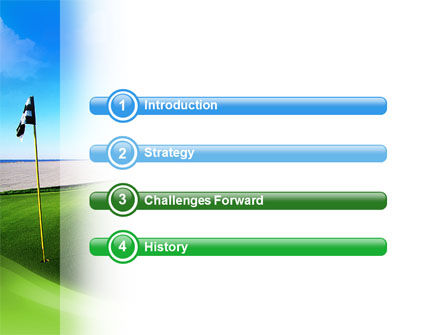 Golf Club PowerPoint Template, Slide 3, 02334, Sports — PoweredTemplate.com
