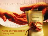 Medical: Plantilla de PowerPoint - seguro de salud #02338