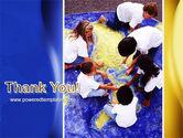 Children and World PowerPoint Template#20