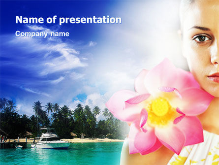 Nature & Environment: Spa Resort PowerPoint Template #02340