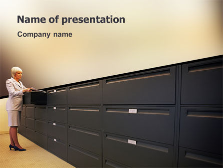Business: Archive PowerPoint Template #02341