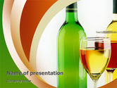 Food & Beverage: White Wine Tasting PowerPoint Template #02342