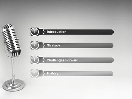 Audio Recording PowerPoint Template Slide 3