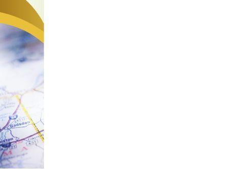 Define Travel Direction PowerPoint Template, Slide 3, 02344, Education & Training — PoweredTemplate.com