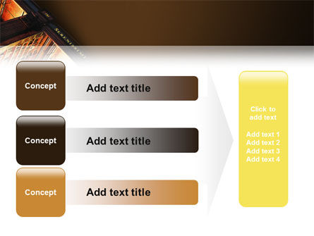 Book Shelf PowerPoint Template Slide 12