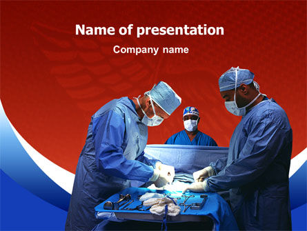 Surgical Help PowerPoint Template