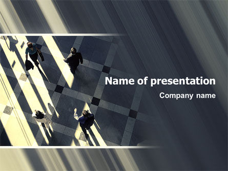 People PowerPoint Template, 02350, Business — PoweredTemplate.com