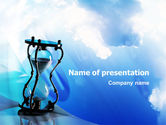 Business Concepts: Time and Infinity PowerPoint Template #02351