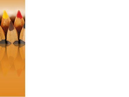 Color Pencil PowerPoint Template, Slide 3, 02353, Business Concepts — PoweredTemplate.com
