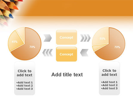 Color Pencil PowerPoint Template Slide 11