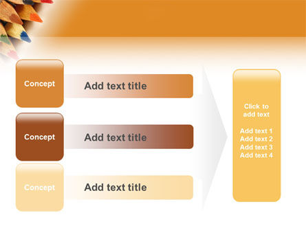 Color Pencil PowerPoint Template Slide 12