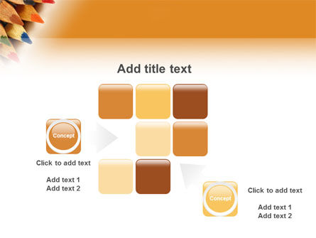 Color Pencil PowerPoint Template Slide 16